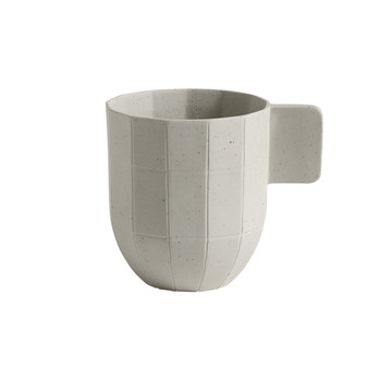 Paper Porcelain Coffee Cup - Grey
