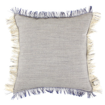 Fray Cushion - Grey - 50x50cm