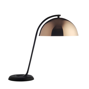 Cloche Table Lamp - Polished Copper
