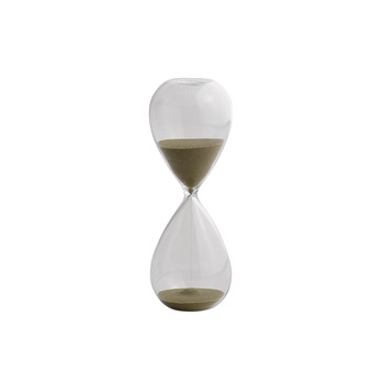 'Time' Hourglass - 15 Minutes - Gold