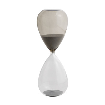 'Time' Hourglass - 30 Minutes - Grey