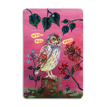 Nathalie Lété - Cutting Board - Owl