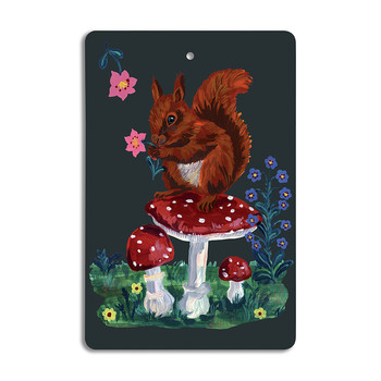 Nathalie Lété - Cutting Board - Squirrel