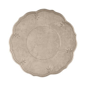 Evergreen Dinner Plate - Taupe