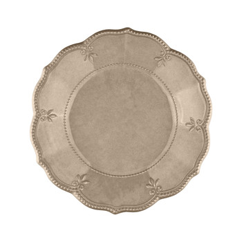 Evergreen Soup Plate - Taupe