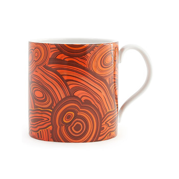 Malachite Mug - Orange
