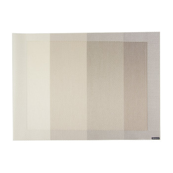 Tempo Rectangle Placemat - Ivory