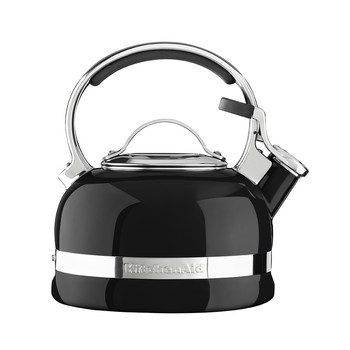 Stove Top Whistling Kettle - Onyx Black