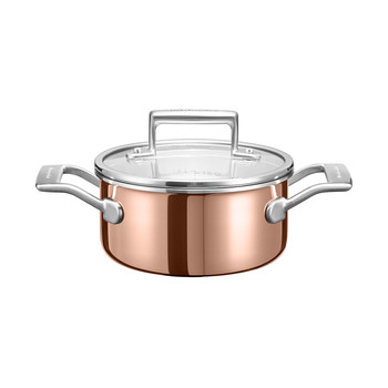3-Ply Copper Saucepan