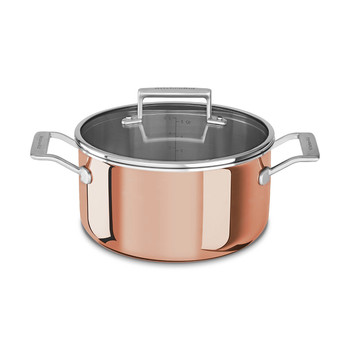 3-Ply Copper Casserole Pan
