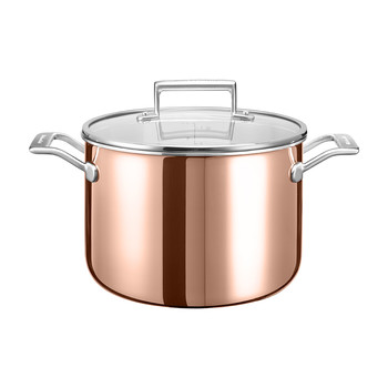 3-Ply Copper Stockpot