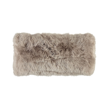New Zealand Sheepskin Pillow - 28x56cm - Dove