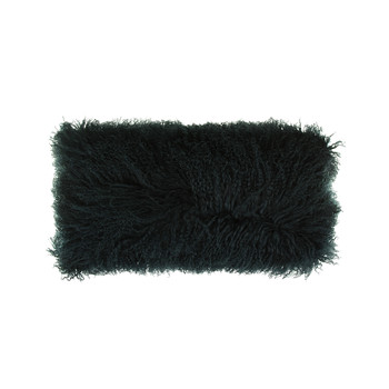 Tibetan Sheepskin Pillow - 28x56cm - Caspian