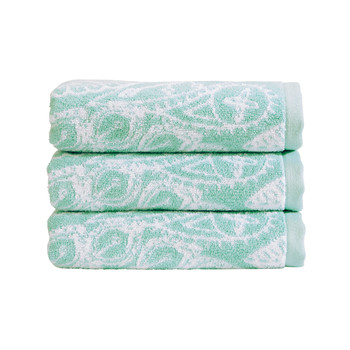 Secret Garden Towel - Aqua