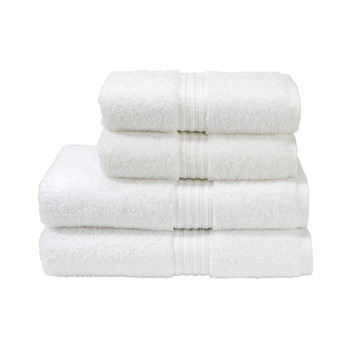 Plush Towel - White