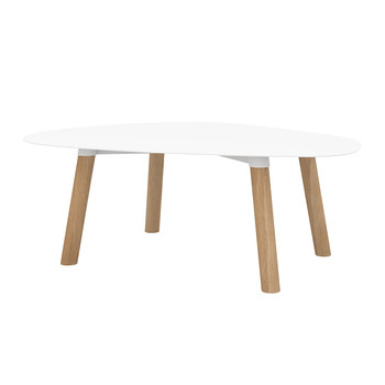 Turtle Table - White