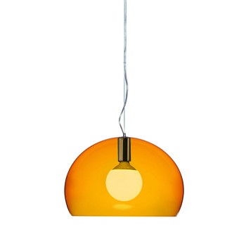 Big FL/Y Ceiling Light - Orange