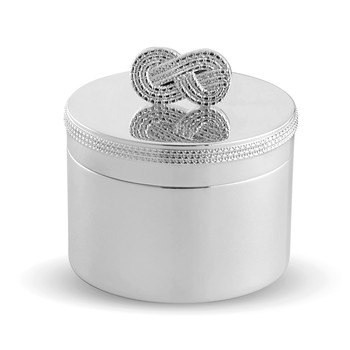 Infinity Baby First Tooth Box - Silver