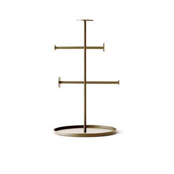 Norm Collector Jewelry Stand - Brass