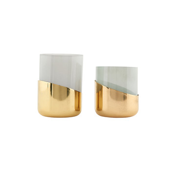 Bright Tealight - Set of 2 - Brass