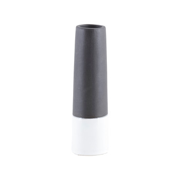 Tube Vase - XS - Black/White