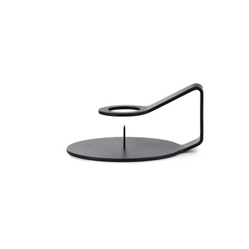 Nocto Candlestick - Black
