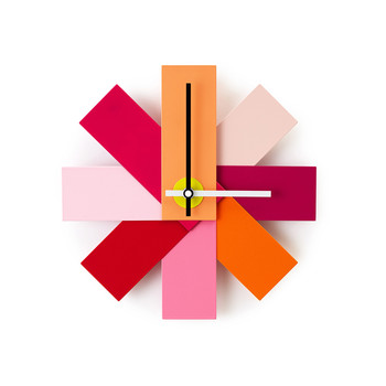 Watch Me Wall Clock - Pink