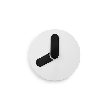 Bold Wall Clock - White