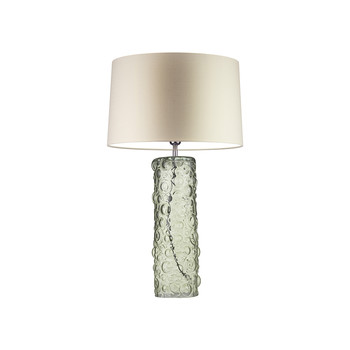 Esther Table Lamp - Natural Green
