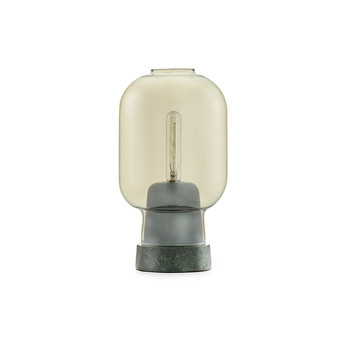 Amp Table Lamp - Gold/Green