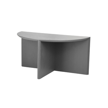 Pie Chart System, Half Table - Deep Grey