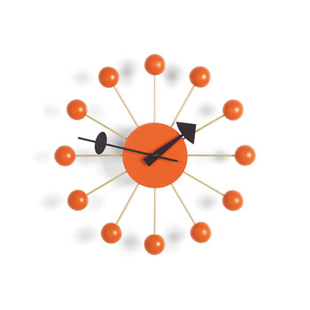 Ball Clock - Orange