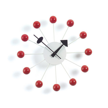 Ball Clock - Red