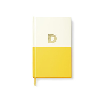 Dipped Initial Notebook - D