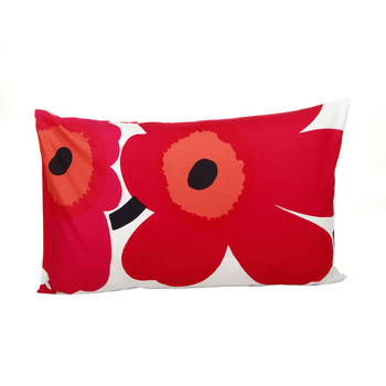 Unikko Pillowcase - Red/White