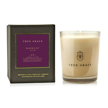 Manor Classic Candle - 190g - Black Lily