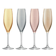 polka-assorted-metalics-champagne-flute-set-of-4