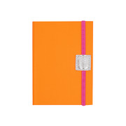 a6-recycled-leather-notebook-plain-neon-orange