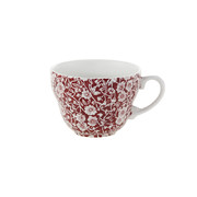 red-calico-breakfast-cup
