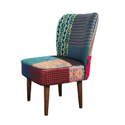 patchwork-jacquard-chair-green