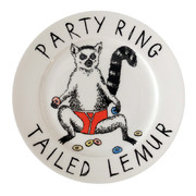 party-ring-tailed-lemur-side-plate