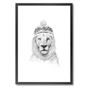 winter-is-coming-white-hat-print-16x20