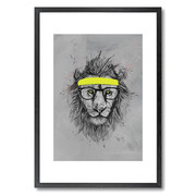 hipster-lion-print-20x28