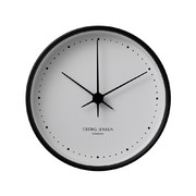 henning-koppel-clock-black-white-22cm