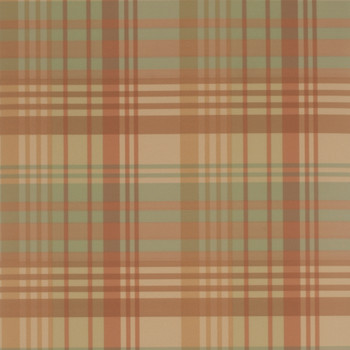Modern Tartan Wallpaper - FG059/Y107 Mulberry