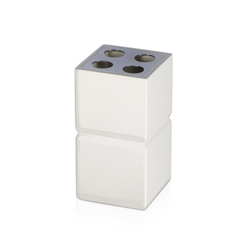 Cube Toothbrush Holder - Off-White