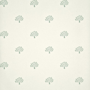 Mulberry Tree Wallpaper - FG068/R104 Aqua