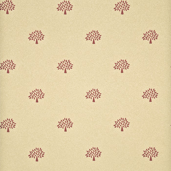 Mulberry Tree Wallpaper - FG068/V92 Red/Sand