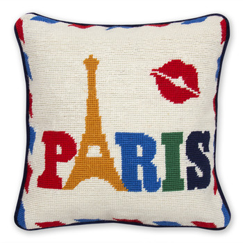 Jet Set Paris Pillow - Paris