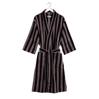 Nimikko Mikko Bathrobe - Grey/Black